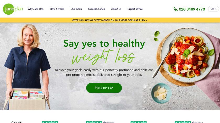 JanePlan Landing Page