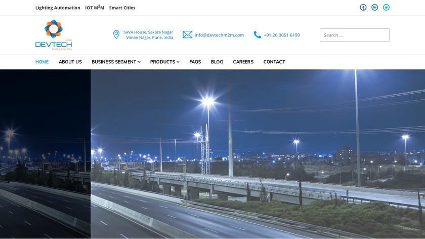 Devtech M2m Landing Page
