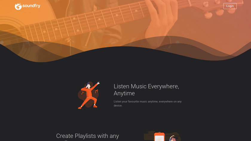 Soundfry Landing Page