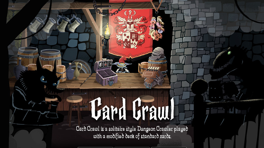 Card Crawl Landing Page