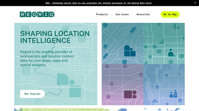 Landgrid Map & Survey Property Landing Page