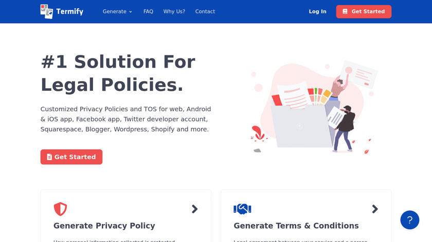 Termify.io Landing Page