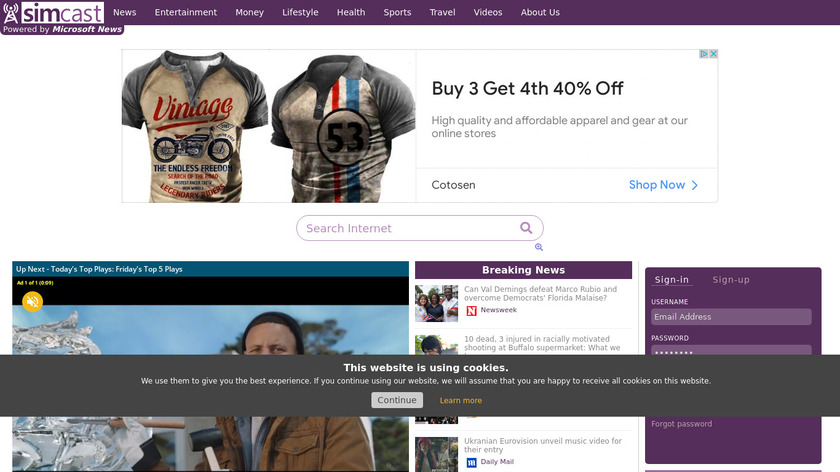 Contacts VCF Landing Page