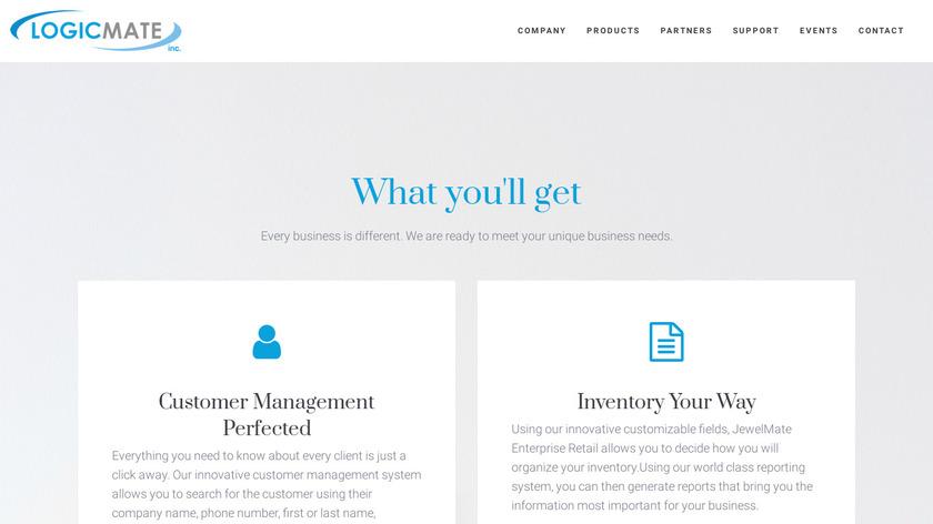 Jewel Mate Landing Page