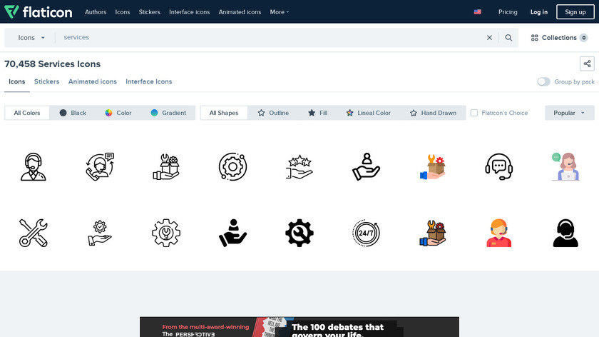 ICON Services Landing Page