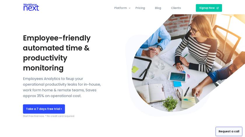 WorkforceAnalytics.in Landing Page