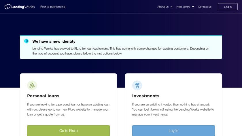 Lending Work Landing Page