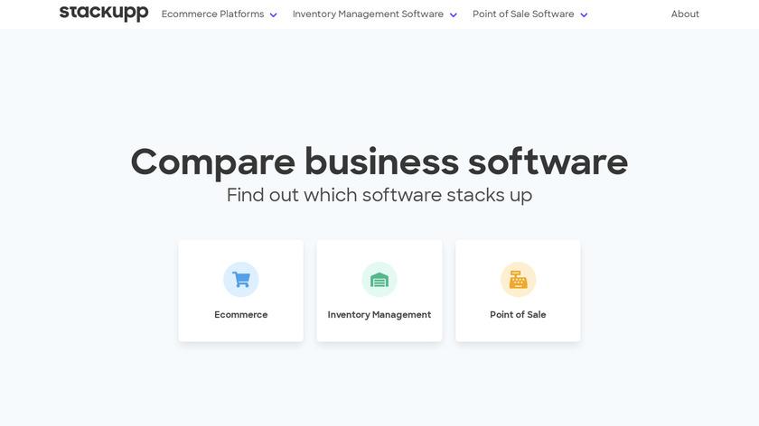 Stackupp Landing Page