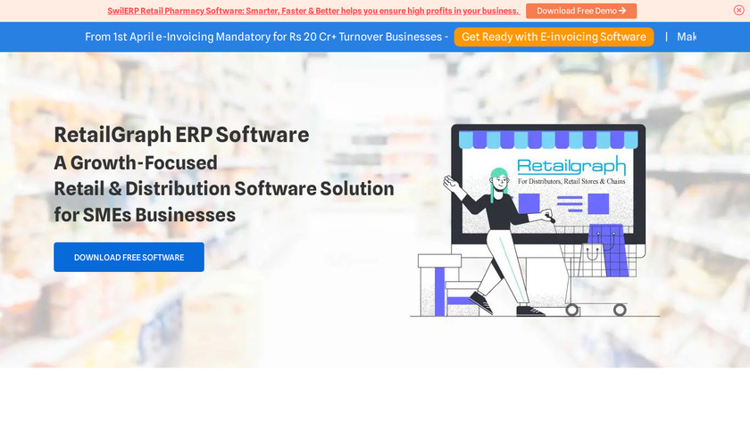 Retail Graph Landing Page