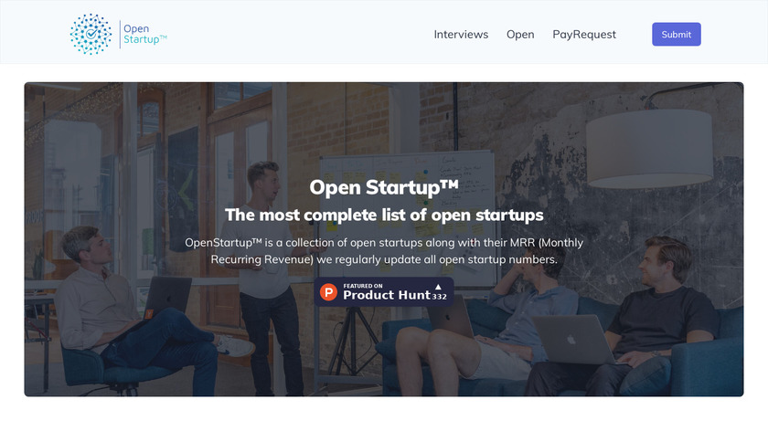 OpenStartup.dev Landing Page