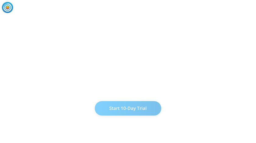 Goal Setting Daily Planner Landing Page
