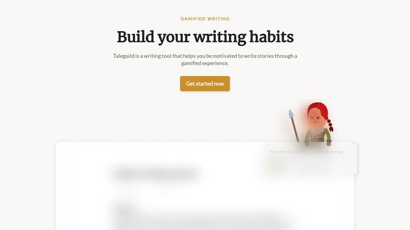Taleguild Landing Page