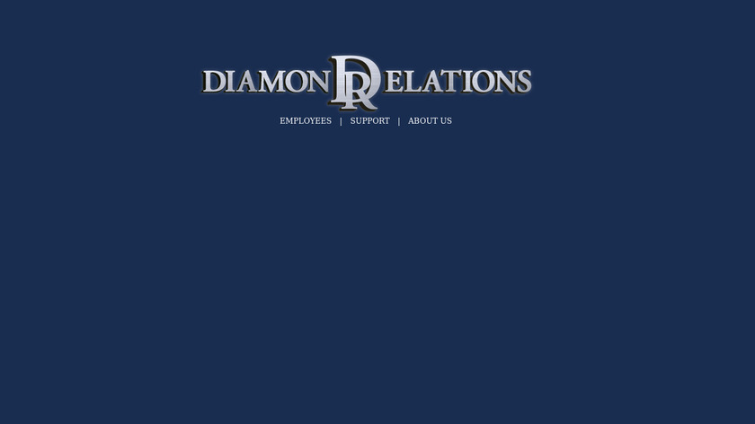 Diamond Relations CRM Landing Page