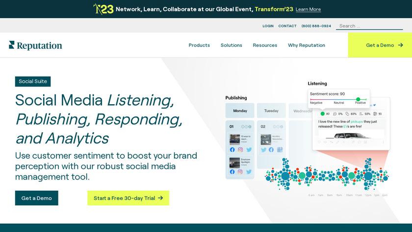 NUVI Landing Page