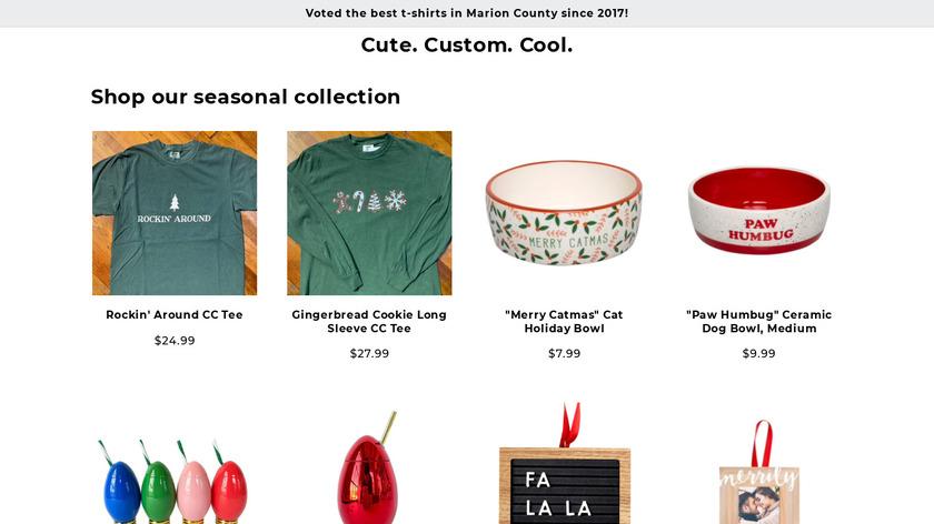 J - Shops Landing Page