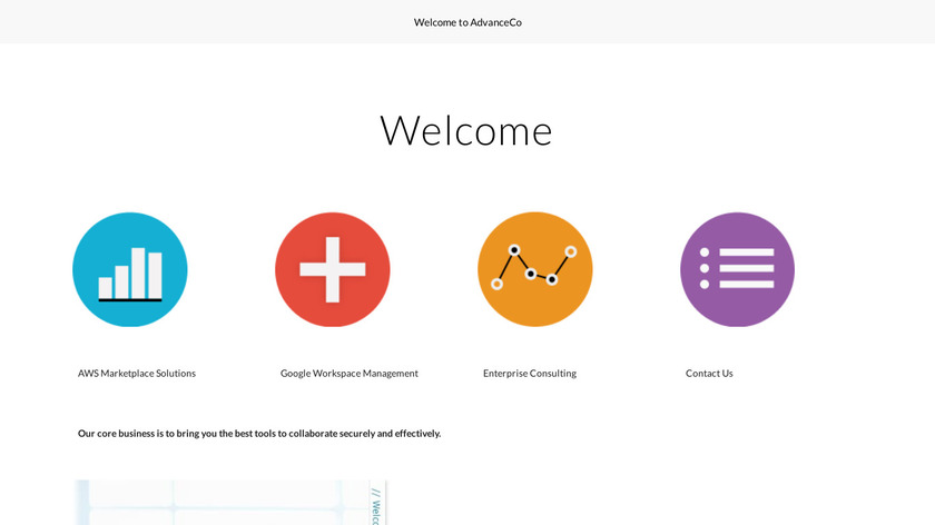 AdvanceCo Inc Landing Page