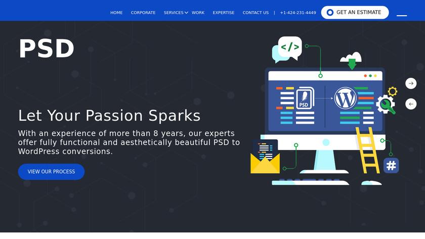 WordSuccor Landing Page