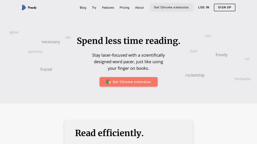 Fready Landing Page