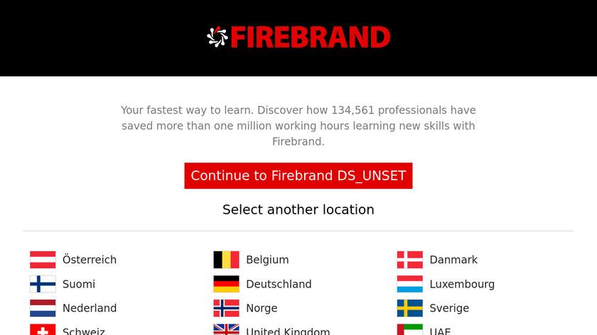 Firebrand Landing Page