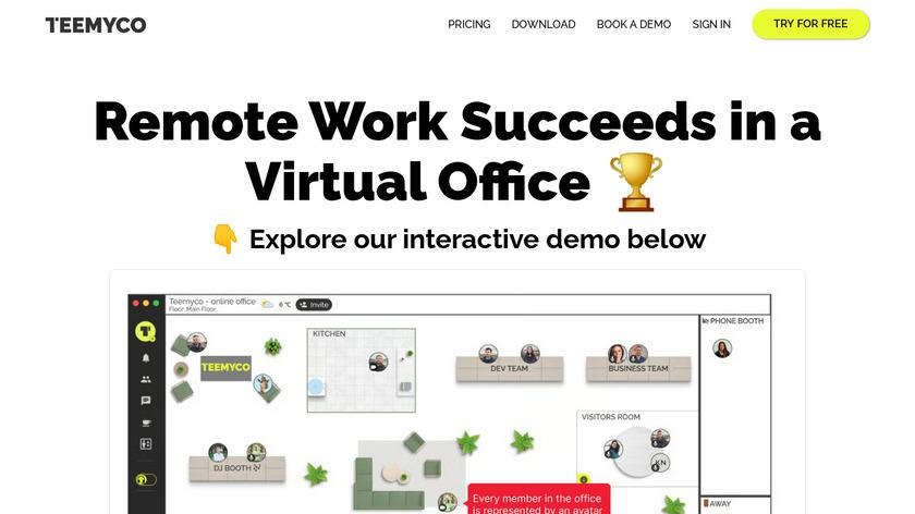 Teemyco Landing Page