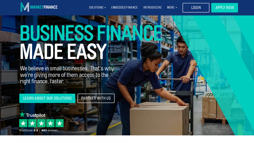 MarketInvoice Landing Page