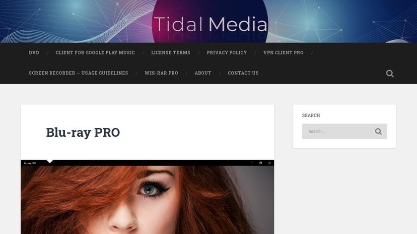 Blu-ray PRO Landing Page