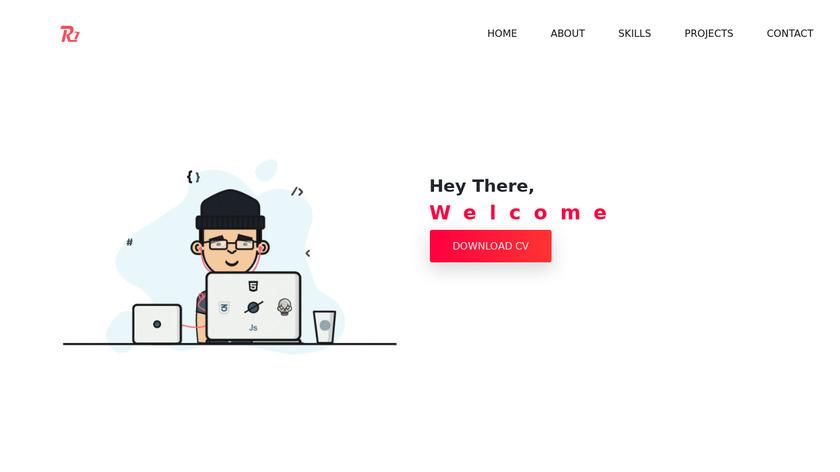 TTS by Ragul Vinay Landing Page