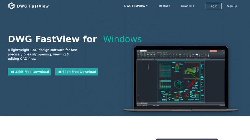 DWG FastView for PC Landing Page
