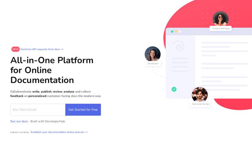 Developerhub.io Landing Page