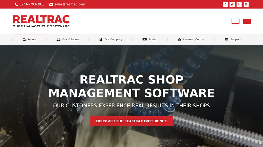 Realtrac Landing Page