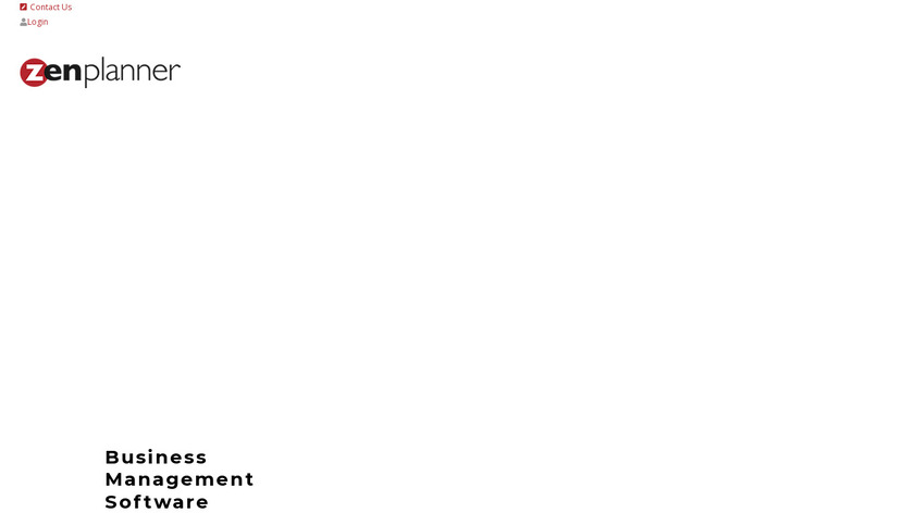 Zen Planner Landing Page