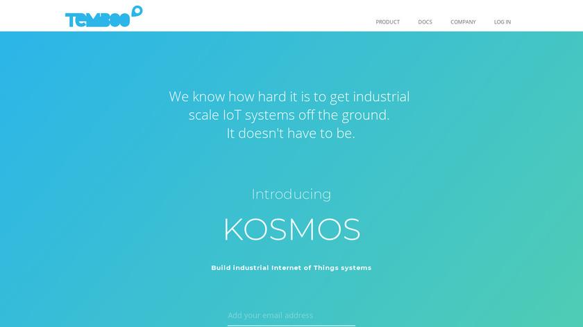 Temboo Landing Page
