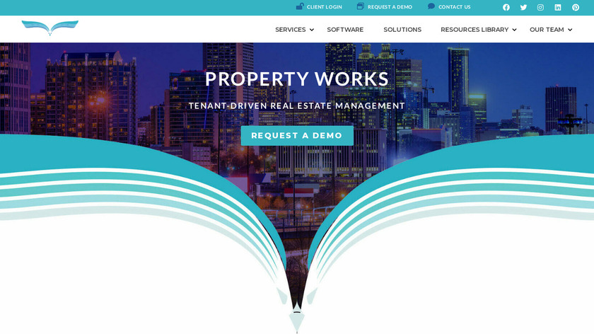 Property Works Landing Page
