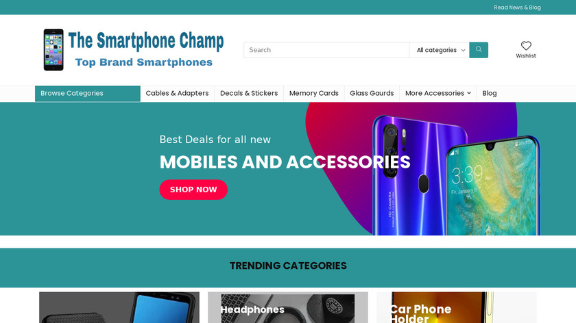 Pepperfilters Landing Page
