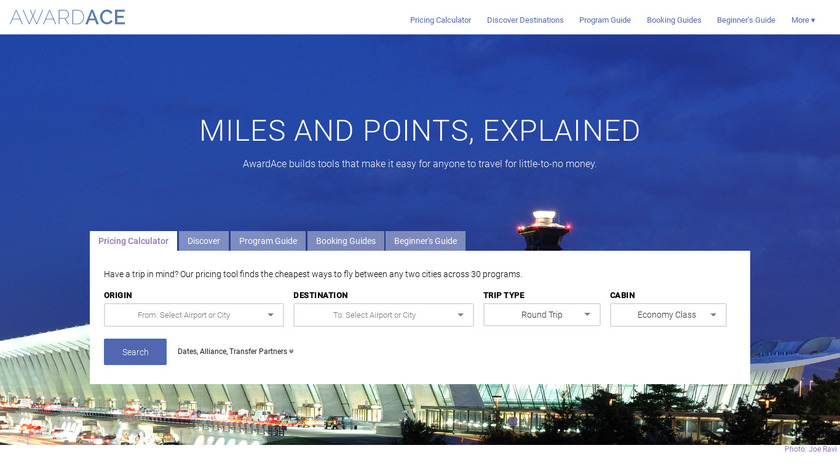 AwardAce Landing Page