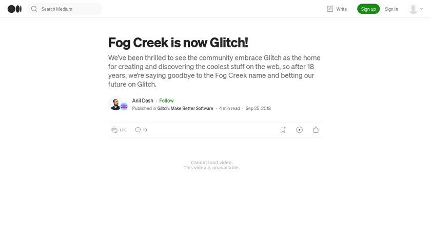 FogBugz Landing Page