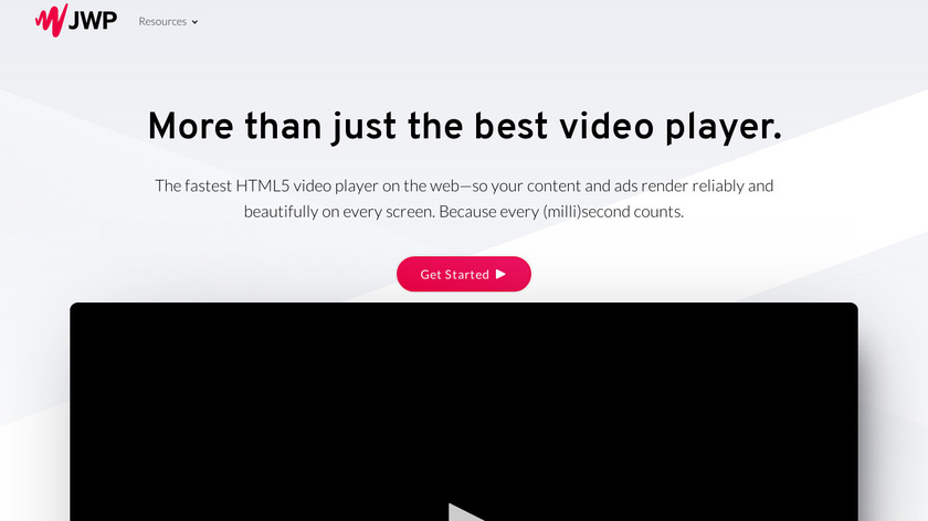 JW Player Landing Page