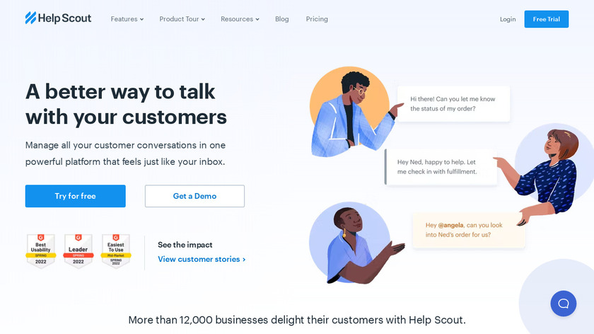 HelpScout Landing Page