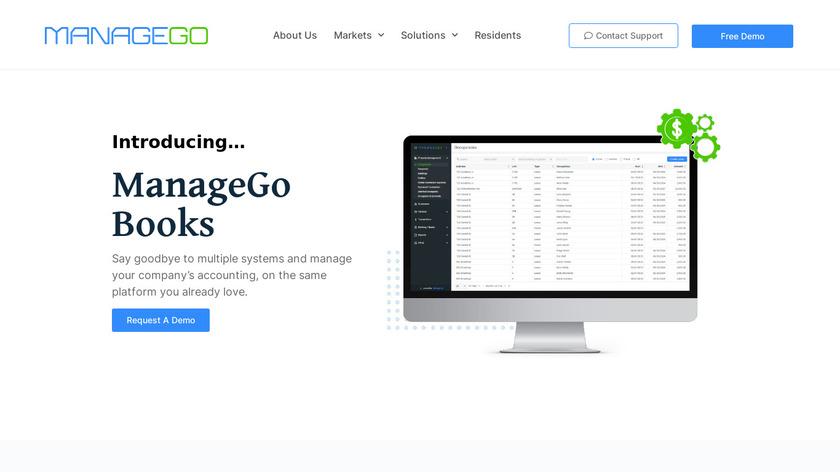 ManageGo Landing Page