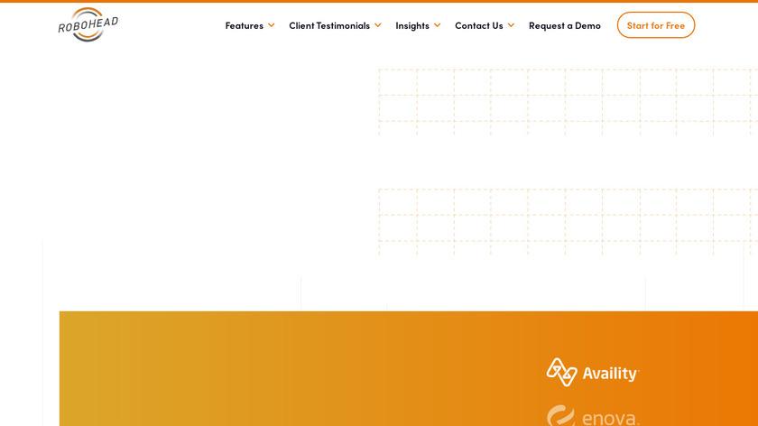 RoboHead Landing Page