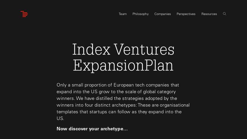 ExpansionPlan Landing Page