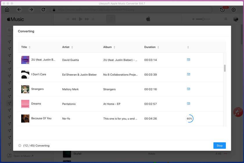 UkeySoft Apple Music Converter Landing Page