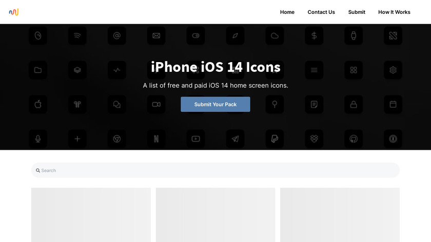 Phoneicons.co Landing Page