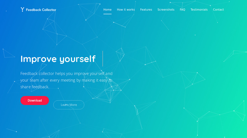 Feedback Collector Landing Page