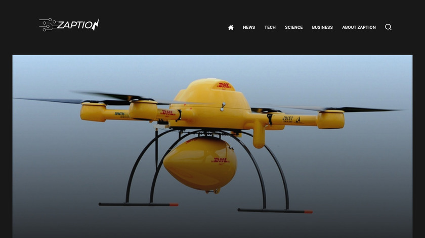Zaption Landing Page