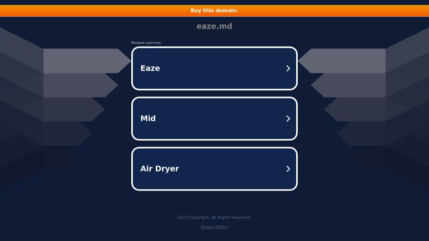 EazeMD Landing Page