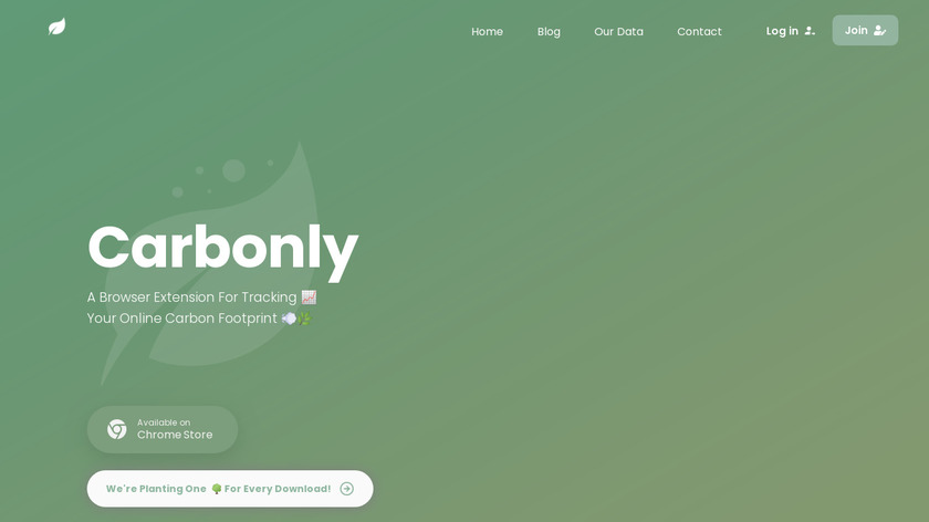 Carbonly Landing Page