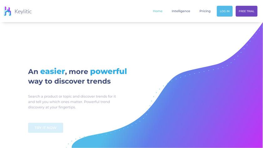 Keylitic Landing Page