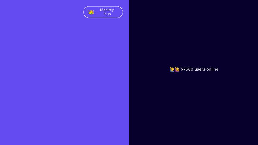 Monkey.cool Landing Page