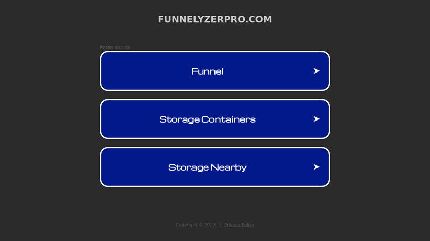 Funnelyzer Pro Landing Page